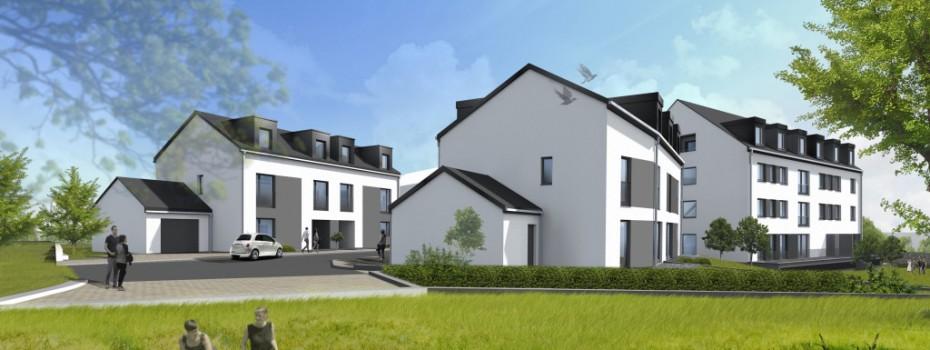 Nouveau Lotissement de 6 maisons à CONSDORF – Reste 1 Maison