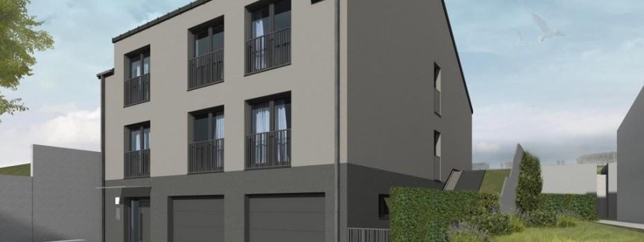 STEINFORT : Maison bifamiliale, 2 Appartements