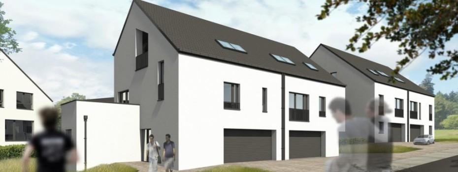 BETTANGE-MESS: 12 maisons jumelées de 3 à 5 chambres